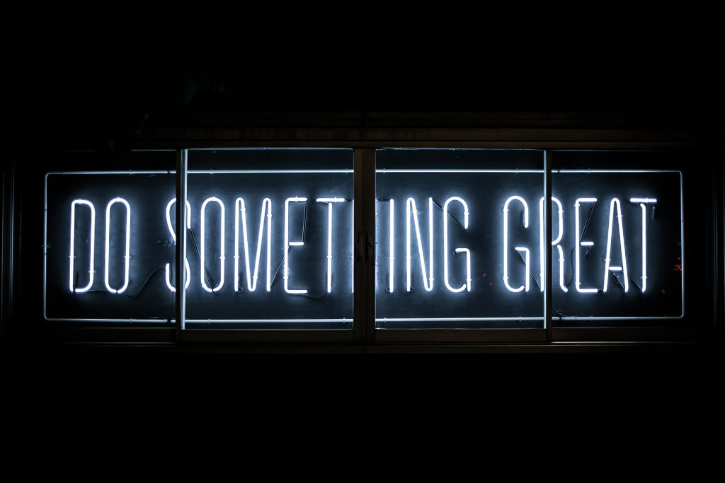 inspirer and do something great